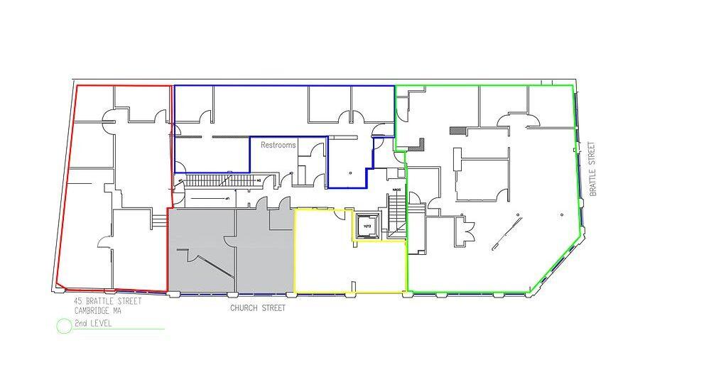 45 Brattle Floor Plan