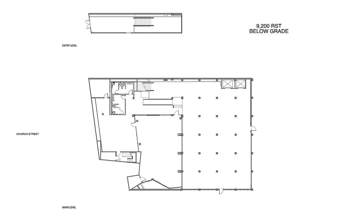 50 Church Floor Plan
